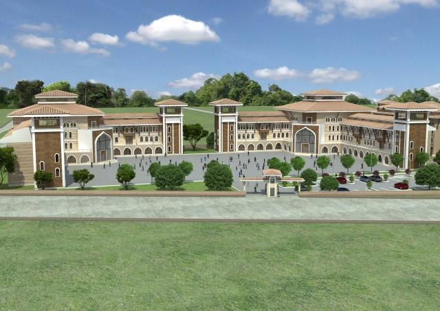 Çankırı İmam Hatip Ortaokulu ve İmam Hatip Lisesi yeni binası için yapılacak çalışmada son aşamaya gelindi.