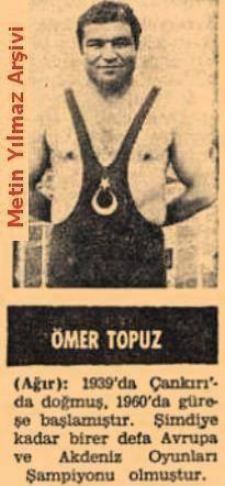 Güreşte Avrupa ve Akdeniz Oyunları Şampiyonu Ömer Topuz
