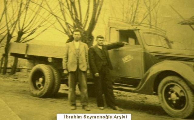 ÇANKIRI'ya GELEN İLK KAMYON YIL 1948 Cemal PAKER (Benzinci), Osman ÜÇKARIŞ