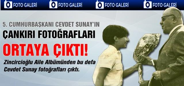 Türkiye Cumhuriyetinin 5. Cumhurbaşkanı Cevdet Sunay'ın Çankırı ziyaretinin fotoğrafları Çankırı Postası'nda.