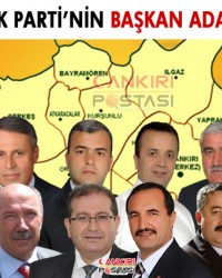 İşte Ak Parti'nin Belediye Başkan adayları