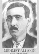 MEHMET ALİ AKIN 1303 (1887-1959)