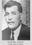 SADIK AKIN (1328) 1912-1975