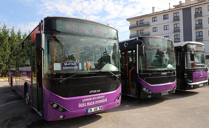 Çankırı Belediyesi toplu taşıma filosunu güçlendirdi!
