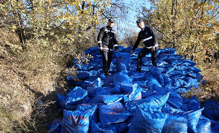Çankırı'da Yaklaşık 200 Ton Kaçak Kömür Ele Geçirildi
