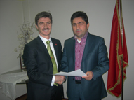 Kenan Karabacak AK Partiden resmen başkan aday adayı