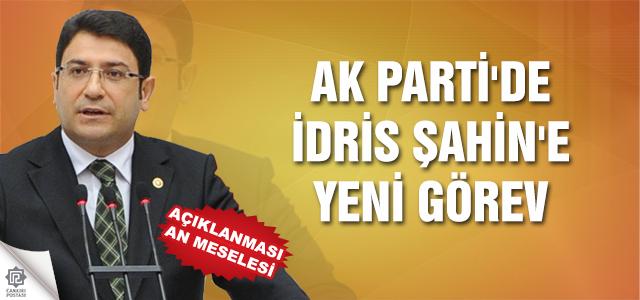 AK Parti'de İdris Şahin'e yeni görev