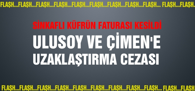 AKP'de Sinkaflı küfrün faturası kesildi