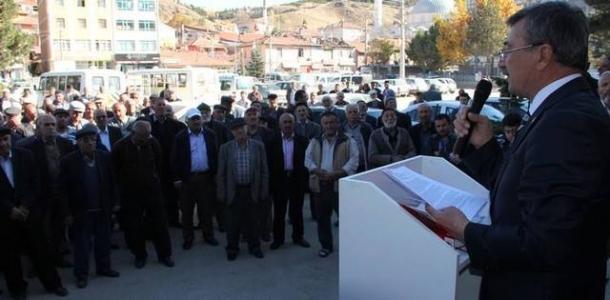 Bahri Nalbant Şabanözü Belediyesine talip!