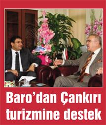 Barodan Çankırı turizmine destek...