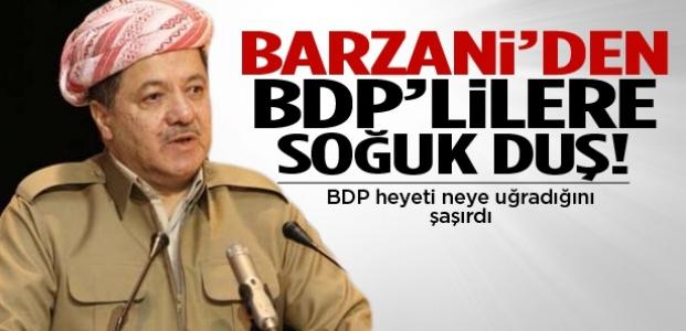 Barzani yönetimi, BDP heyetine izin vermedi