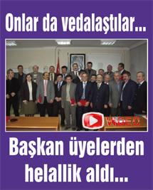 Belediye Meclisinde son oturum gerçekleşti... Video izle