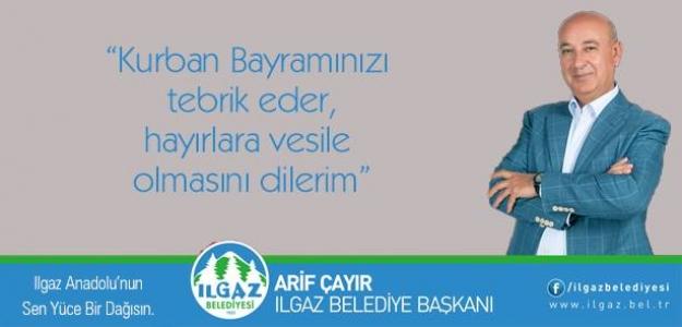 Başkan Arif Çayır'dan Bayram Mesajı