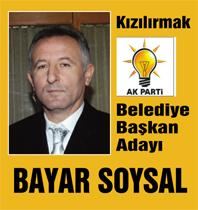 FLAŞ..FLAŞ.. Kızılırmakta başkan adayı Bayar Soysal