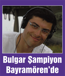 Bulgar şampiyon kayıt yaptırdı…