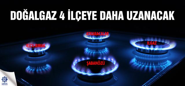 Çankırı'da doğalgaz 4 ilçeye daha uzanacak
