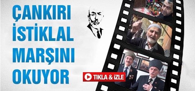 Çankırı'da İstiklal Marşı klibi!