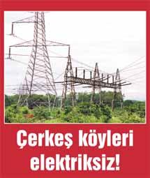 Çerkeşte elektrik kesintisi