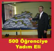 Fenerbahçeliler 500 Öğrenciyi Giydiriyor