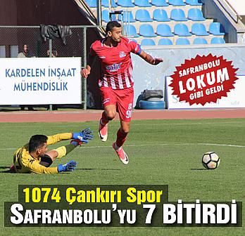 1074 Çankırı Spor Safranbolu'yu farklı mağlup...