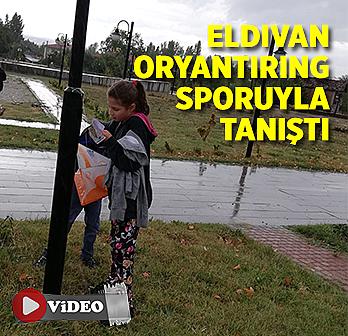 Eldivan Oryantiring sporuyla tanıştı