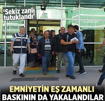 Çankırı'da çeşitli suçlardan aranan 14...