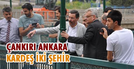 Gökçek, Çankırı Ankara Kardeş İki Şehir
