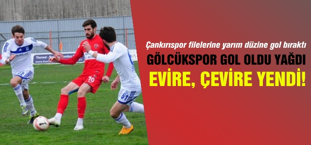 Tarihi hezimet Çankırıspor'a gol oldu yağdı!