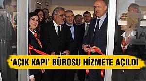 Açık Kapı Bürosu Hizmete açıldı