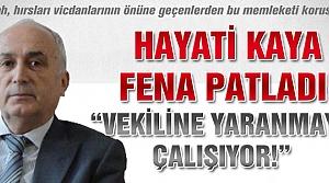 Hayati Kaya'dan danışman Akgün'e sert açıklama!