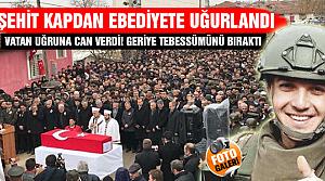 Bitlis şehidimiz Çankırı'da son yolculuğuna uğurlandı