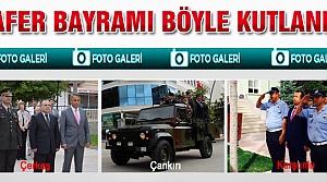 Çankırı'da Zafer Bayramı böyle kutlandı!