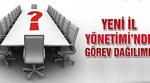 Çankırı Ak Parti'de görev dağılımı!