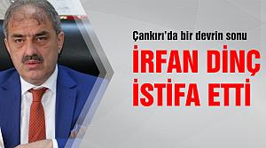 Çankırı Belediye başkanı istifa etti