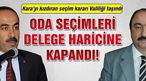 Çankırı Ziraat odası seçimlerinde kızdıran ilan!