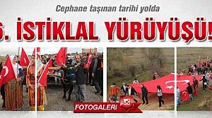 Çankırı'da 6. İstiklal yürüyüşü yapıldı!