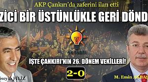 Çankırı'da AKP zaferini ilan etti, muhalefet sessizliğe büründü!