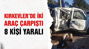 Çankırı'da  trafik kazası! 8 kişi yaralandı..