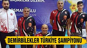 Çankırılı Demirbilekler Türkiye Şampiyonu oldu