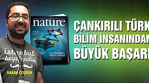 Çankırılı Türk bilim insanından büyük başarı