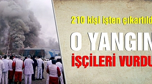 Çerkeş'te 210 Aytaç çalışanı işten çıkartıldı!