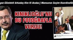Gökçek, Kınıklıoğlu'nu bu fotoğrafla vurdu!