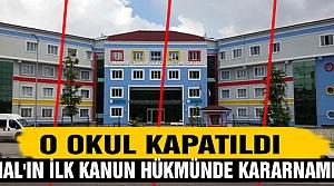 İşte Çankırı'da kapatılan dernek, okullar..