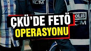 Karatekin Üniversitesinde FETÖ operasyonu!