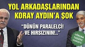 Koray Aydın'a yol arkadaşlarından zehir zemberek açıklama!