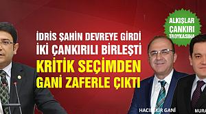 Ankara'da birlik Çankırı'ya zafer getirdi