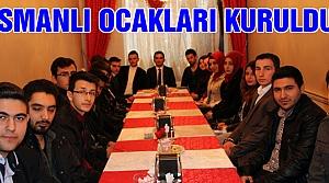 Osmanlı Ocakları kuruldu!
