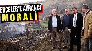 Rektör Ayrancı Serçeler'in Üzüntüsüne Ortak Oldu