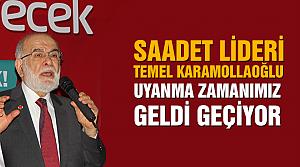 Saadet lideri Karamollaoğlu Çankırı'da iftar açtı