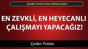 Saadet'ten iddialı sözler!